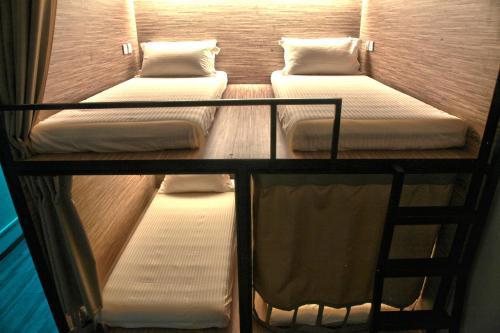 Ein Bett oder Betten in einem Zimmer der Unterkunft Dream Lodge