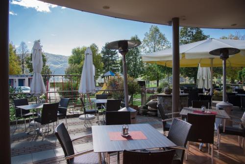 Ein Restaurant oder anderes Speiselokal in der Unterkunft Boutique Hotel Erla
