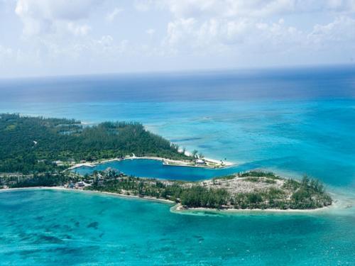 A bird's-eye view of Cape Eleuthera Resort & Marina
