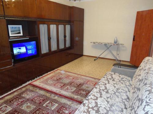 Гостиная зона в Borisovskie Prudy Apartment
