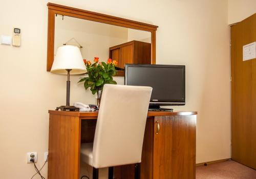 Televízia a/alebo spoločenská miestnosť v ubytovaní U Pana Cogito