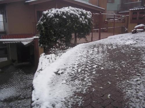 Residência Mengue durante o inverno