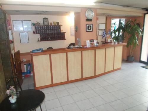 Vstupní hala nebo recepce v ubytování Elite Hotel