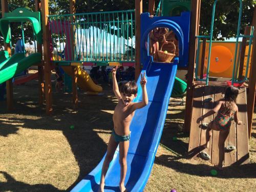 Parquinho infantil em Hotel Canoeiros