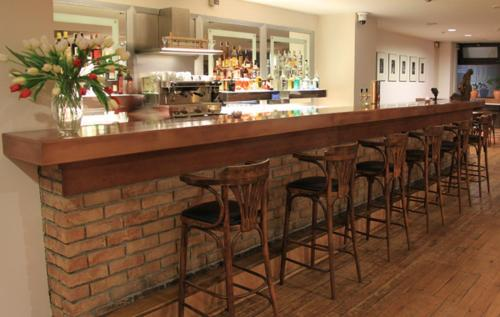 The lounge or bar area at Hotel Bothe