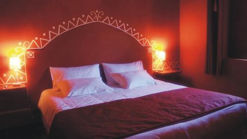 Uma cama ou camas num quarto em Monte da Xara