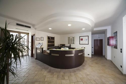 Hall o reception di Villa Giovina