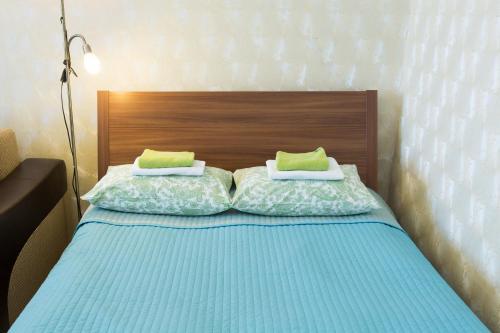 Кровать или кровати в номере Мини-отель на 1-ом Басманном