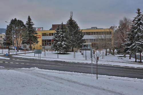 Hotel Šariš during the winter