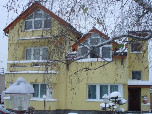 Fontána during the winter