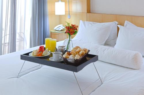 Breakfast options available to guests at Royal Golden Hotel - Savassi