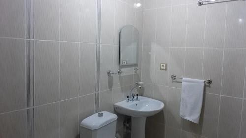 A bathroom at Hotel Kervansaray