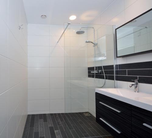Een badkamer bij Hotel Terminus