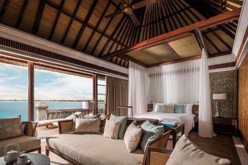 A seating area at Four Seasons Resort Bali at Jimbaran Bay