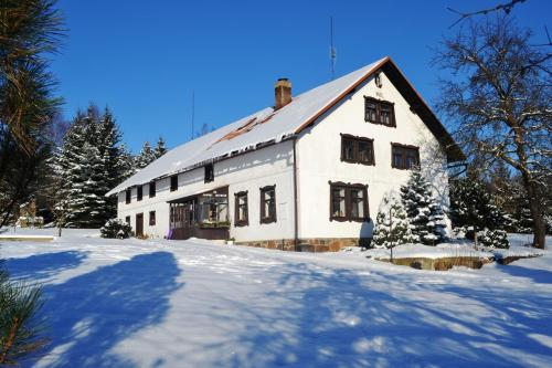 Chalupa pod Klepáčem зимой