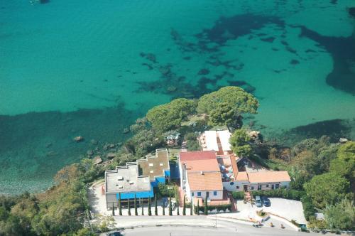 A bird's-eye view of Hotel Viticcio