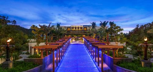 A view of the pool at The St. Regis Langkawi or nearby