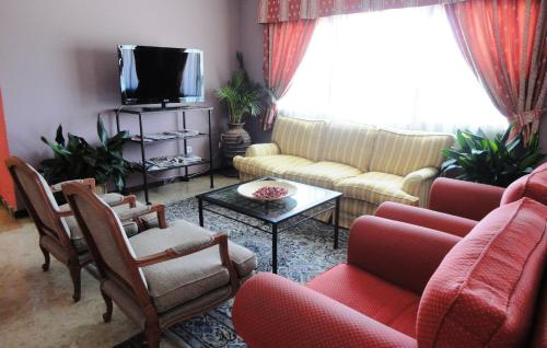 Zona de estar de Hotel Mirador