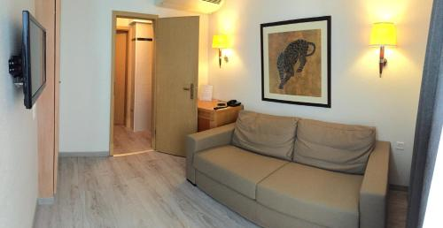 Гостиная зона в Appart'hôtel Résidence CityZen