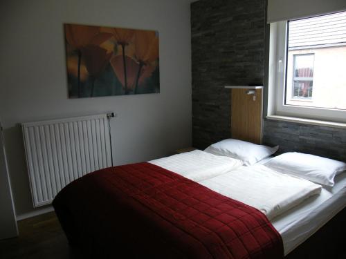 Кровать или кровати в номере B&B Villa Roma