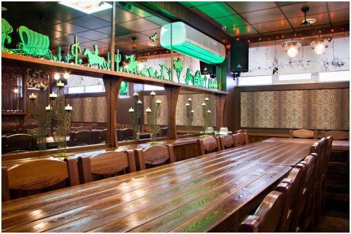 Лаундж или бар в Гостиница Золотой Стрелец