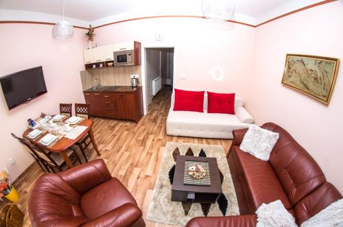Гостиная зона в Apartman Relax Olomouc