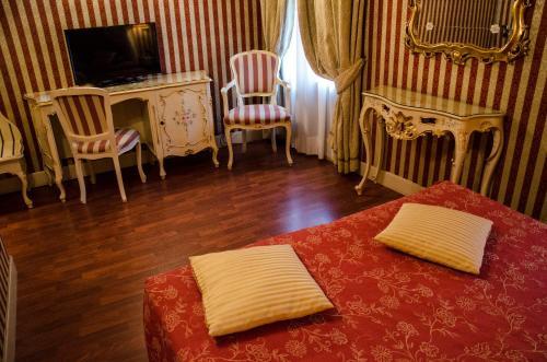 Area soggiorno di Dimora Dogale