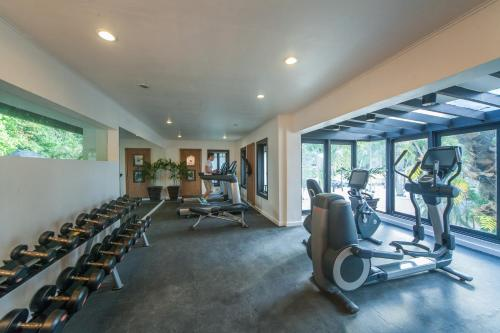 The fitness center and/or fitness facilities at El Nido Resorts Lagen Island