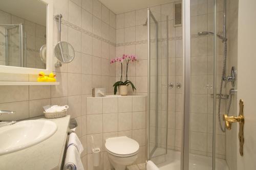 Ein Badezimmer in der Unterkunft Hotel Interest of Bavaria