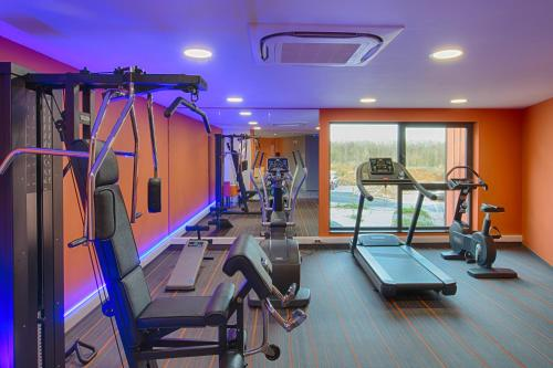 The fitness center and/or fitness facilities at Orange Hotel La Louvière