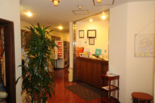 The lobby or reception area at Hotel Kangetsuso