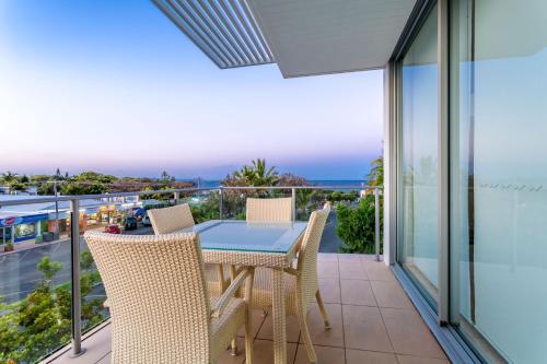 A balcony or terrace at Plantation Resort At Rainbow