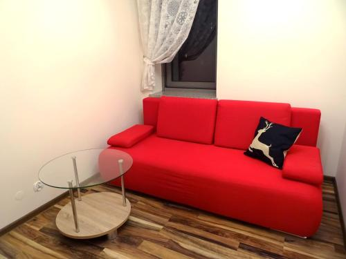 Część wypoczynkowa w obiekcie Globetrotters' Apartment