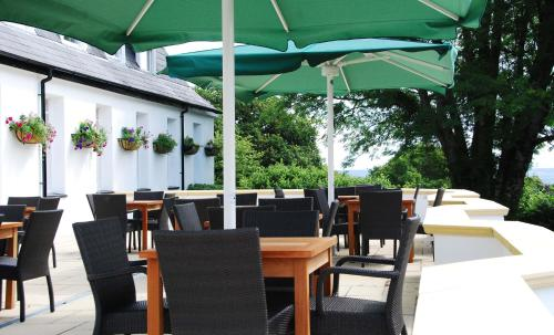 A restaurant or other place to eat at Ilsington Country House Hotel & Spa