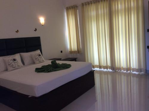 Cama o camas de una habitación en Lemazone Inn