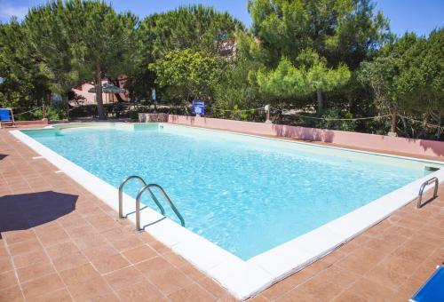 The swimming pool at or near Hotel Mezzaluna