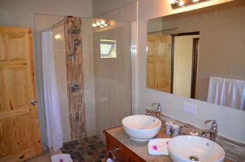 A bathroom at Kaye Coco