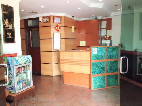The lobby or reception area at Golden Star Hotel (SG Clean)