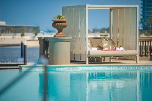 The swimming pool at or near Palazzo Versace Dubai