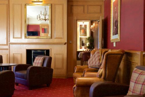 A seating area at Chester Station Hotel, Sure Hotel Collection by Best Western