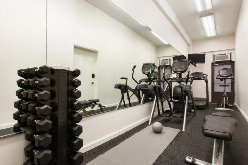 The fitness center and/or fitness facilities at The Frederick Hotel Tribeca