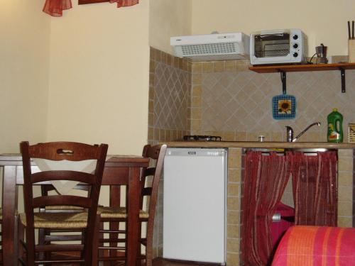Cucina o angolo cottura di La Casa Delle Cascate