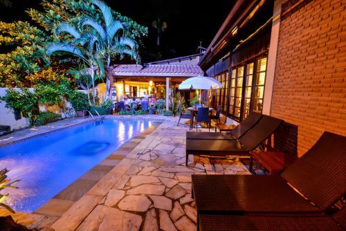 The swimming pool at or close to Estalagem Casa Grande Pousada