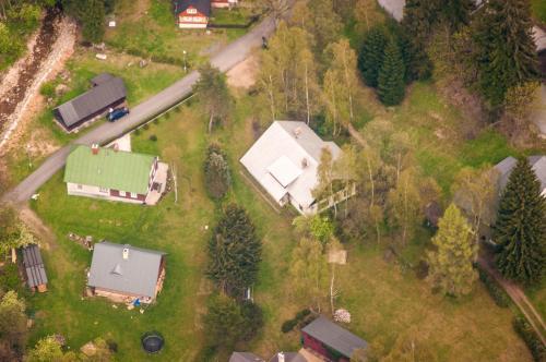 Letecký snímek ubytování Privát - Harrachov 392