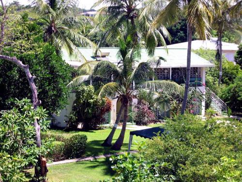 A garden outside The Legend Garden Condos
