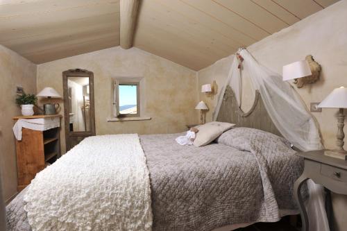 Un ou plusieurs lits dans un hébergement de l'établissement Résidence Les Petitons