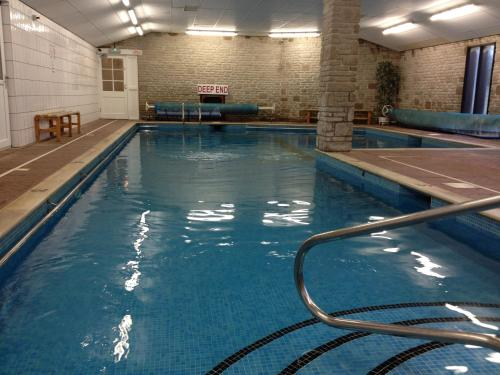 The swimming pool at or near Wheal Rodney Holiday Park