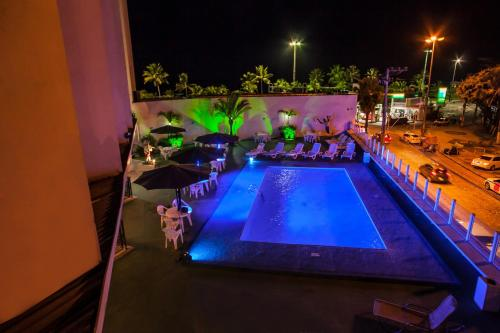 A view of the pool at Recife Praia Hotel or nearby