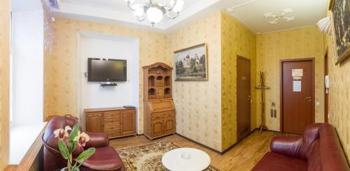Гостиная зона в Гостиный Двор на Троицкой