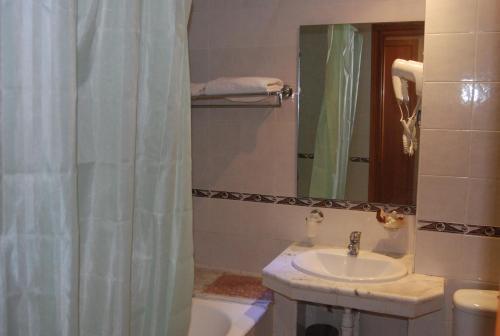 A bathroom at Hotel la princesse